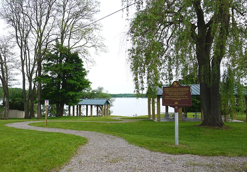 Almira Township Lakefront Park in Lake Ann
