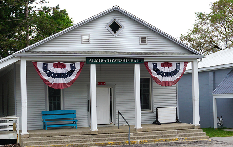 Almira Township Hall in Lake Ann MI